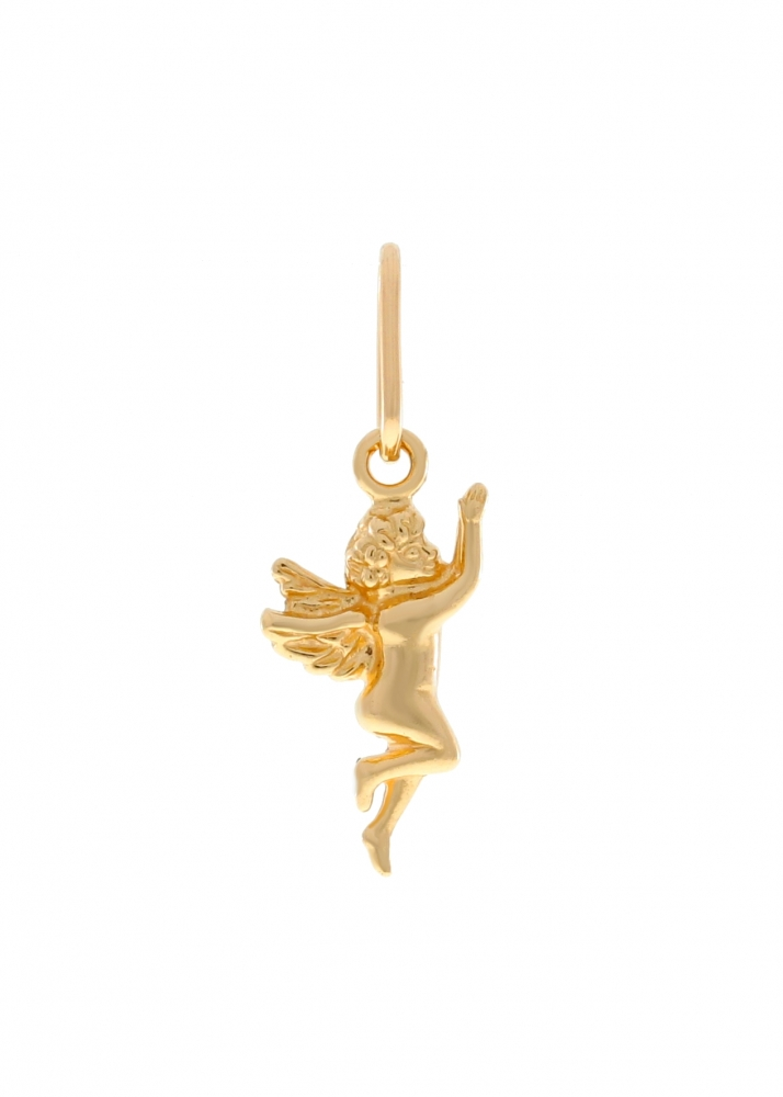 Gold pendant - angel.