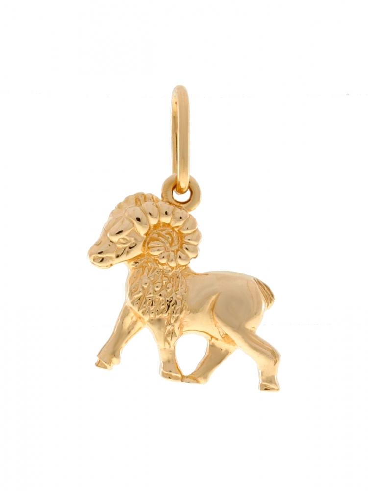 Gold zodiac sign - Aries.