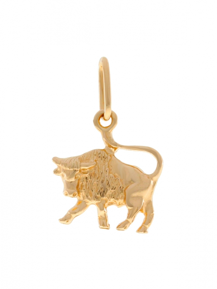 Gold zodiac sign - Taurus.