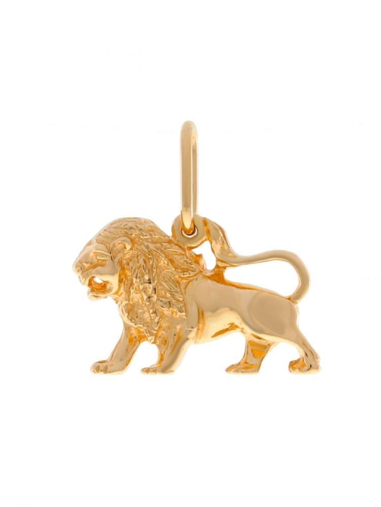 Gold zodiac sign - Leo.
